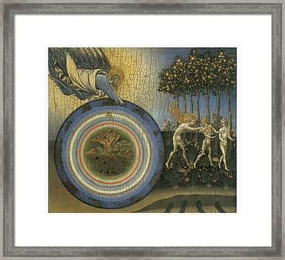 Expulsion From Paradise Framed Print by Giovanni Di Paolo