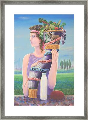 Extant Framed Print by Purvis Evans