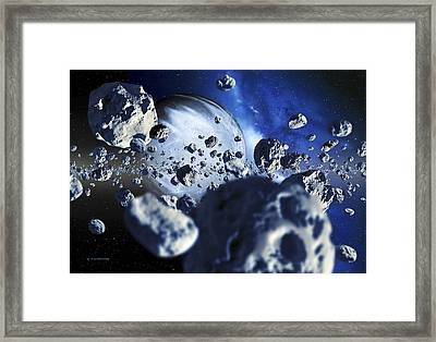 Extrasolar Planet Framed Print by Detlev Van Ravenswaay