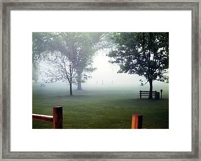 Extreme Golf Framed Print by Marilyn Hunt