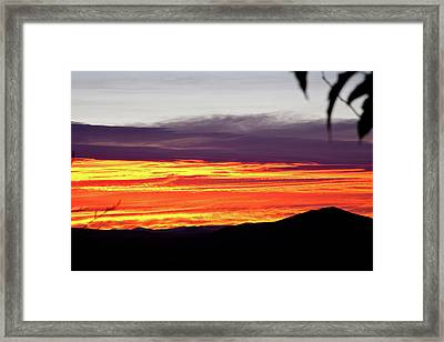 Extreme Sunrise Framed Print