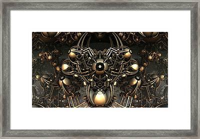 Eye Bot Framed Print