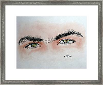 Eye Candy Framed Print by Maria Barry