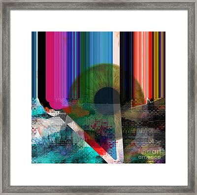 Eye Contact Framed Print by Fania Simon