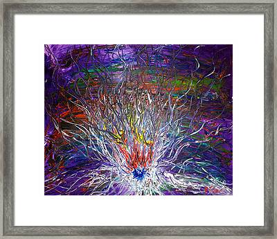 Eye Eruption Framed Print by Pretchill Smith