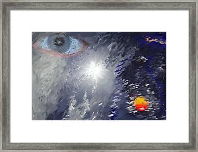 Eye In The Sky Framed Print by Mark Stidham