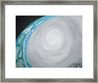 Eye Of Irene Framed Print by Devon Stewart