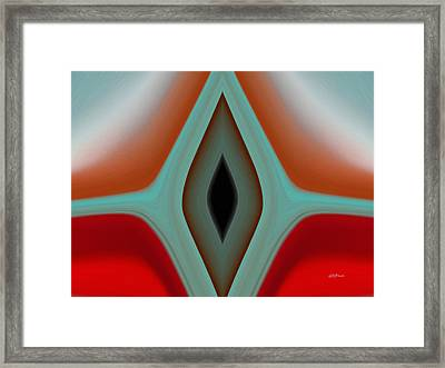 Eye Of The Needle Framed Print