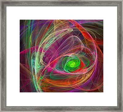 Eye Of The Storm Framed Print by Ricky Barnard