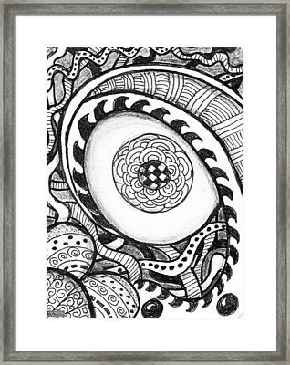 Eye See Framed Print by Paula Greenlee