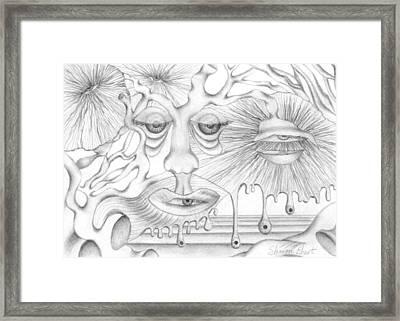 Eye Spies Framed Print by Sharon Ebert