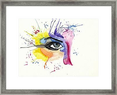 eye Framed Print by Tom Evans