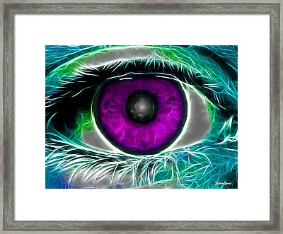 Eyeconic Framed Print by Stephen Younts