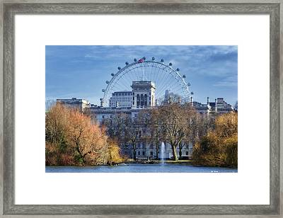 Eyeing The View Framed Print