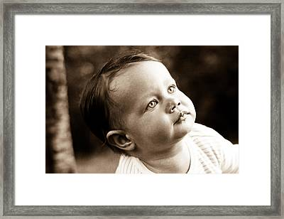 Eyes Framed Print by Denice Breaux