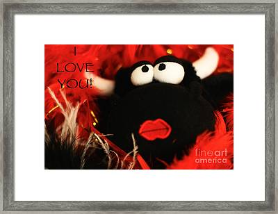 Framed Print featuring the photograph Eyes For You by Leslie Leda
