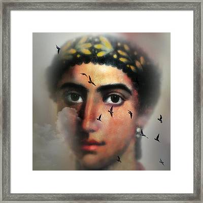 Eyes From The Past Framed Print by Mostafa Moftah