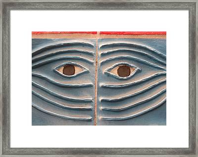 Eyes Of Aviles Framed Print by Warren Clark