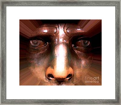 Eyes Of Liberty Framed Print