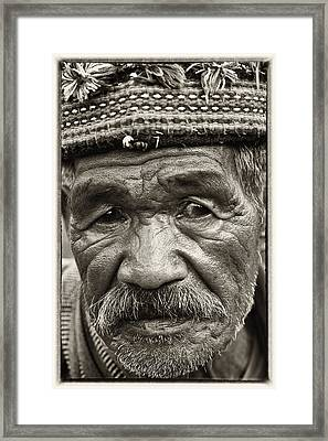 Eyes Of Soul Framed Print
