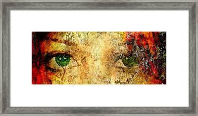 Eyes Of The Beheld Framed Print