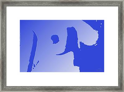Eyes On Him Framed Print