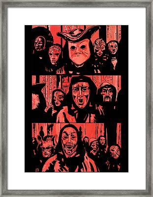 Eyes Wide Shut 1 Framed Print