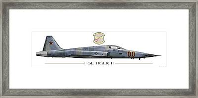 F-5e Tiger II Framed Print by Clay Greunke