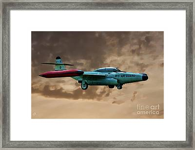 F-89 Scorpion Framed Print by Tommy Anderson