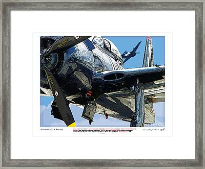 F8-f Bearcat Framed Print