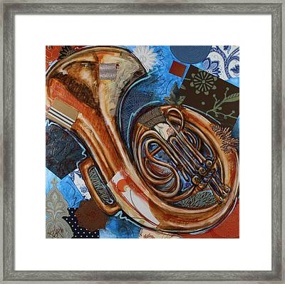Fa The French Horn Framed Print