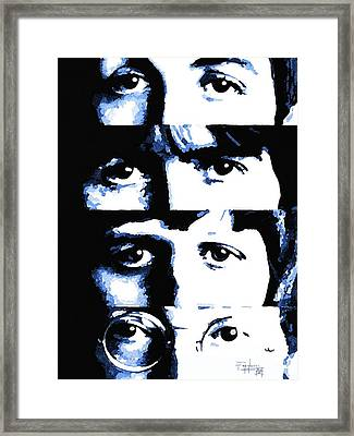 Fab Four Framed Print by Patrizio Farinacci