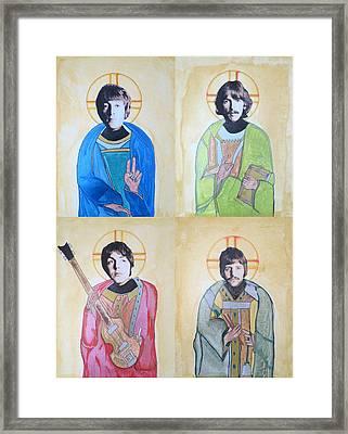 Fab Four Framed Print by Philip Atkinson