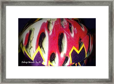 Faberge Wanabe Framed Print by Jean Paul LeBlanc