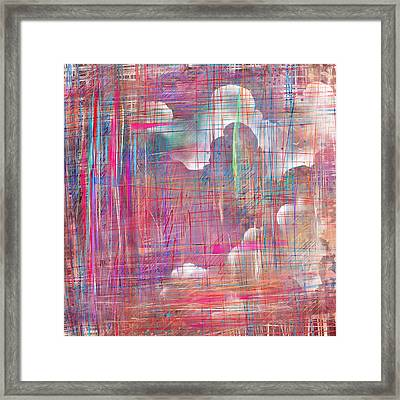 Fabric Of A Dream Framed Print by Rachel Christine Nowicki