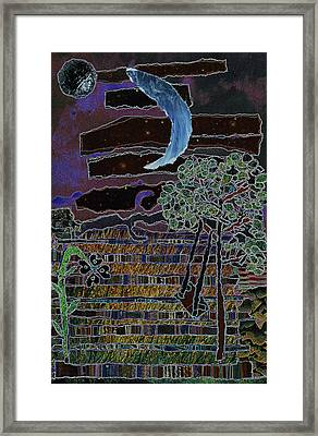 Fabric Of Life 2 Framed Print by Kenneth James