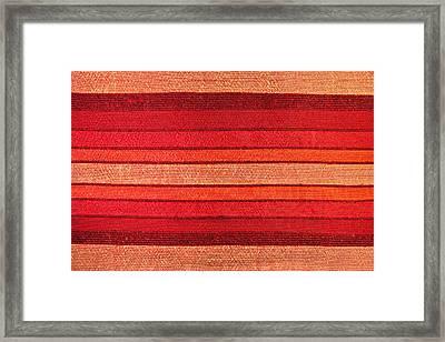 Fabric Framed Print by Tom Gowanlock