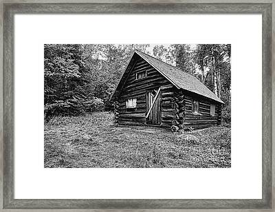 Fabyan Guard Station - White Mountains New Hampshire Usa Framed Print by Erin Paul Donovan