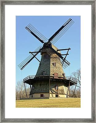 Fabyan Windmill Framed Print