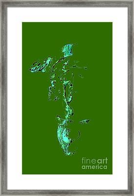 Face Gorgon Framed Print by Yury Bashkin