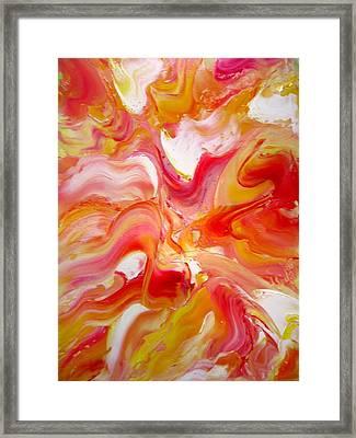 Face Of God Framed Print by Asida Cheng