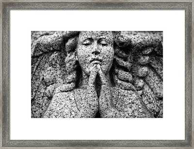 Face To Face Framed Print by Darren Creighton