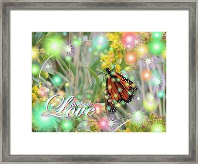 Facebook Love Framed Print by Laurence Oliver