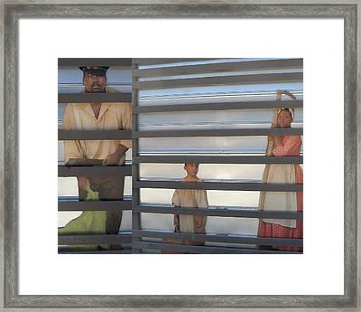 Faces Framed Print by Patricia Januszkiewicz