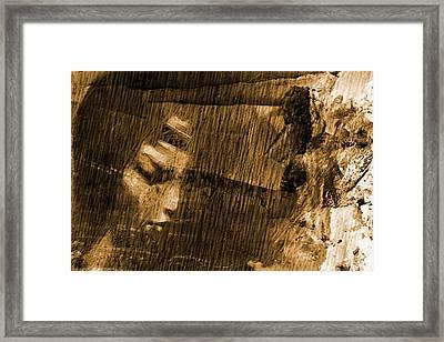 Framed Print featuring the digital art Facing Tomorrow by Andrea Barbieri