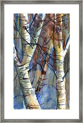 Fade To Autumn Framed Print by Mindy Newman