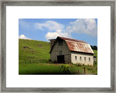 Faded Generations Framed Print