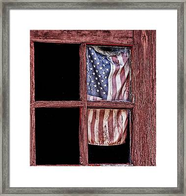 Faded Glory Framed Print