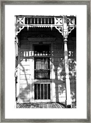 Faded Shotgun Framed Print by Cheri Randolph