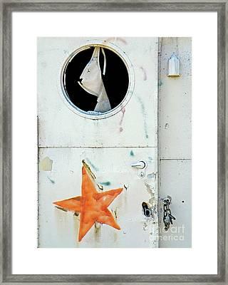 Faded Star Framed Print